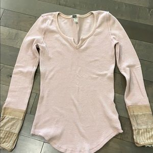 Free People Kyoto Cuff thermal, Pink